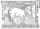China: Acupuncture diagram from Bo Le's classic equestrian study, c.7th century BCE.